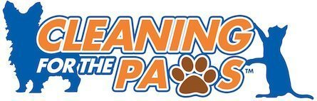 Cleaning for the Paws logo