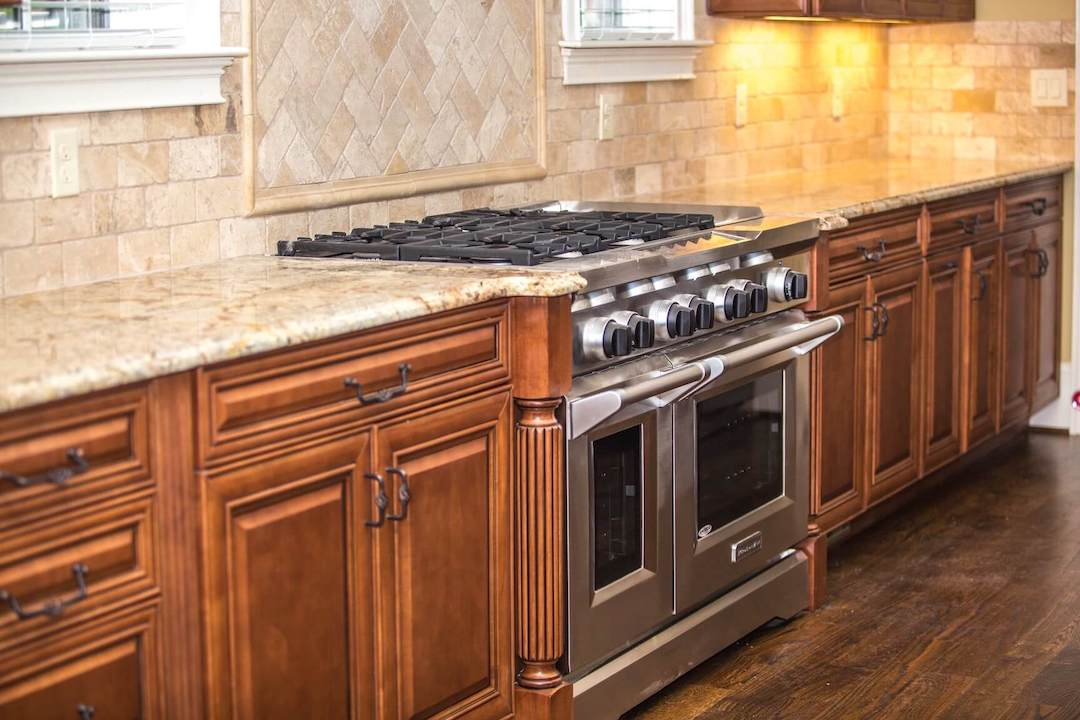 granite countertops in andover home