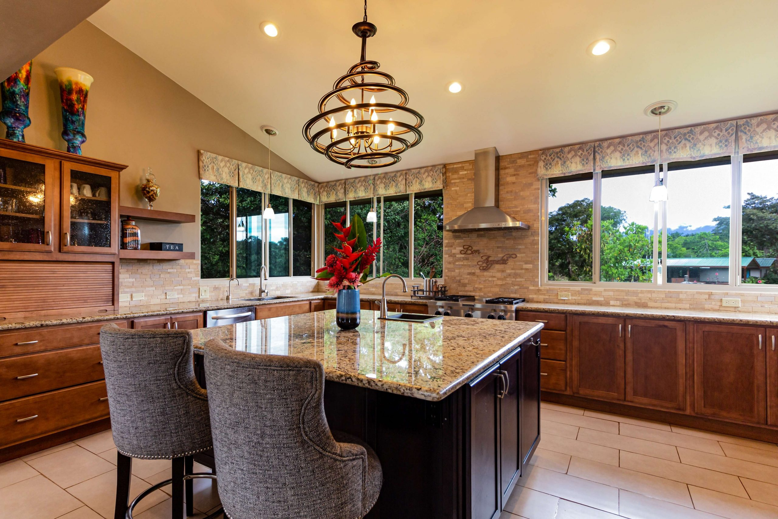 granite countertops in minneapolis home