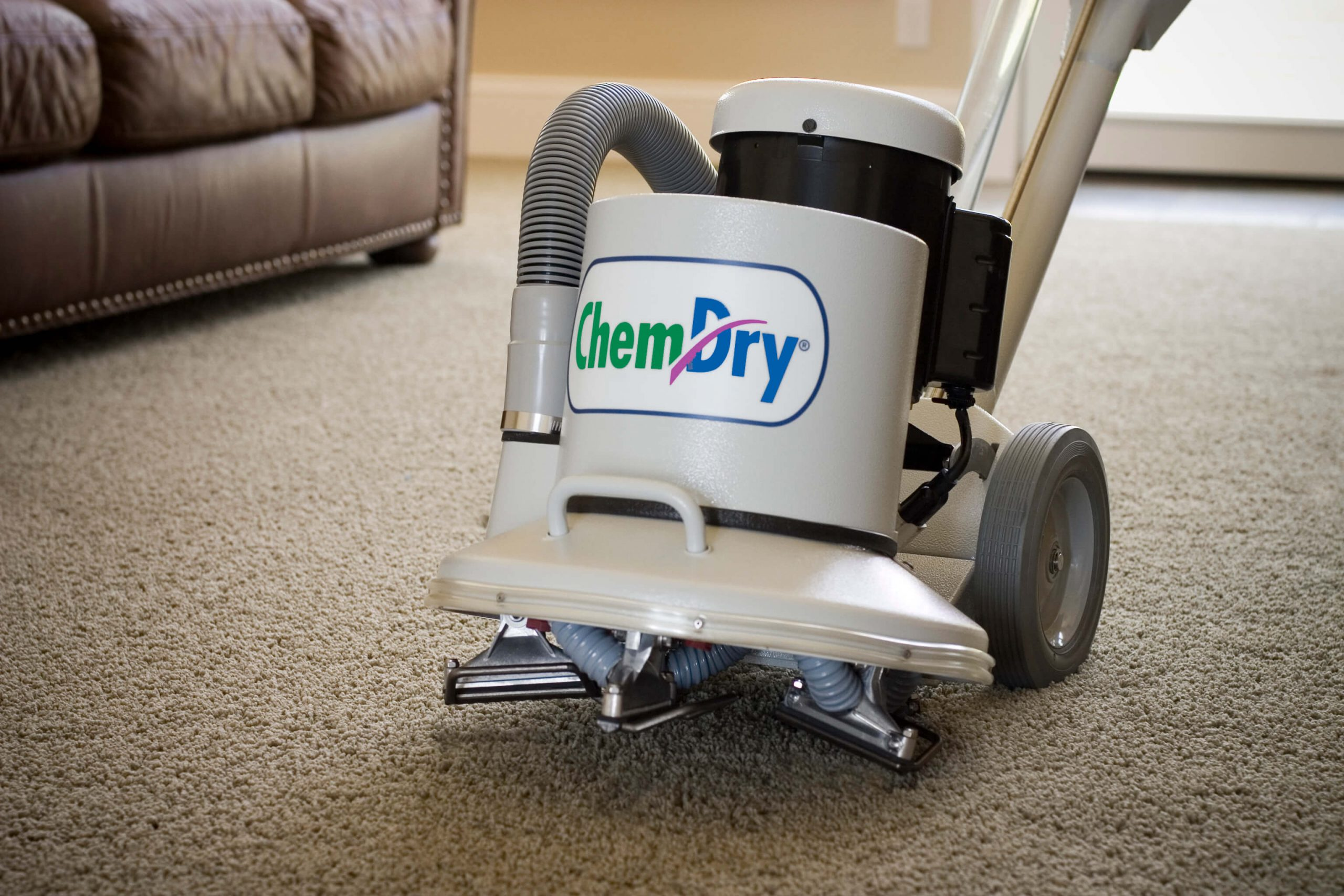 Chem-Dry cleaning equipment for carpet cleaning in Minneapolis