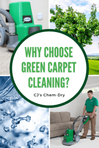 Why Choose Green Carpet Cleaning graphic