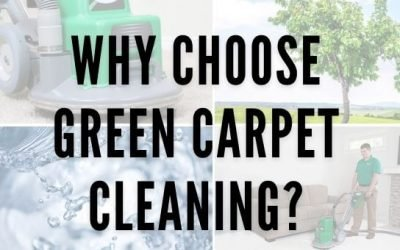 Why Choose Green Carpet Cleaning?