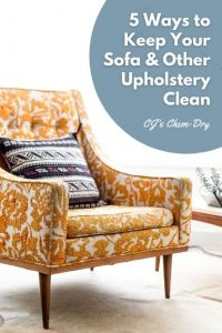 5 Ways to Keep Your Sofa & Other Upholstery Clean