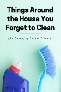 Things Around the House You Forget to Clean